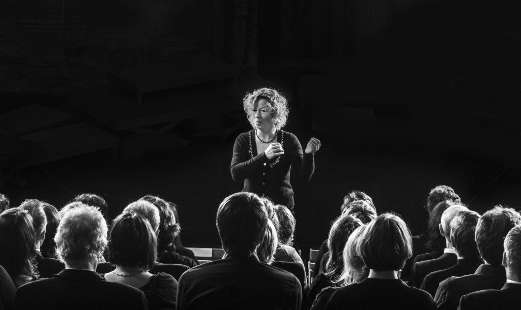 Inger-Pernille Stramrud, Solheimkorets dirient siden 1985.