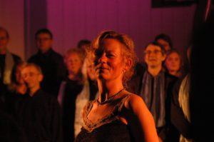 Korets 6. dirigent, toneheimeleven Inger Pernille Stramrud.