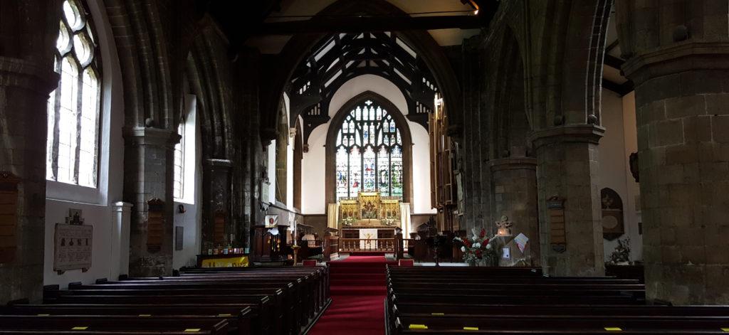 Kirken huser mye av Yorks vikingfortid og er tilegnet Olav den Hellige.