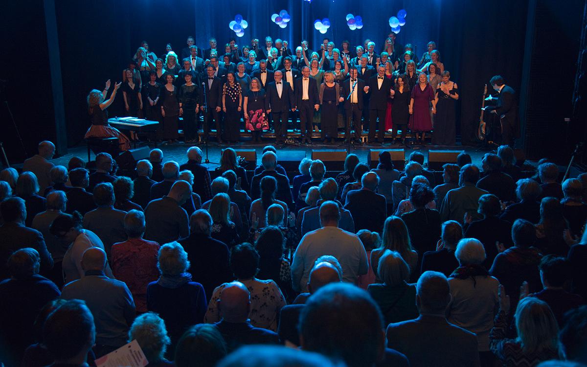 Takk kjære publikum og Solheimkorvenner, dere får frem det beste i oss! Alle foto: Henning Ramseth.