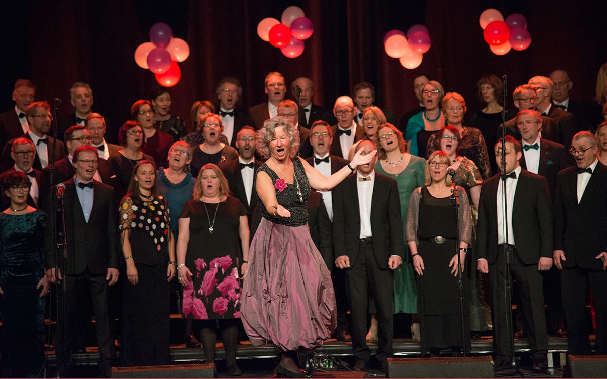 Inger-Pernille Stramrud, vår utrolig dyktige og inspirerende dirigent!