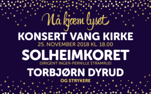 Solheimkoret Julekonsert i Vang kirke