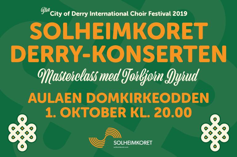 Derrykonserten i Aulaen Domkirkeodden