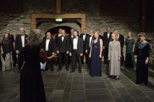 Solheimkoret reiser til Derry på korkonkurranse. Foto: Henning Ramseth