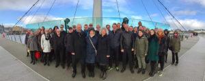 Solheimkoret på Fredsbrua i Derry, Nord-Riland