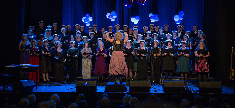 Solheimkorets 50 års jubileumskonsert i Teatersalen I Brumunddal 3. mars 2018